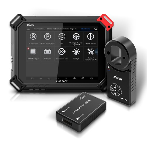 [UK/US Ship No Tax] Xtool X100 PAD2 Pro Plus Xtool KS-1 Toyota Smart Key Emulator