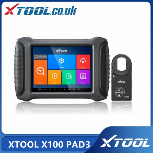 Xtooltech XTOOL X100 PAD3 (X100 PAD Elite) Tablet Key Programmer Global Version With KC100 & Mileage Odometer and Special Functions