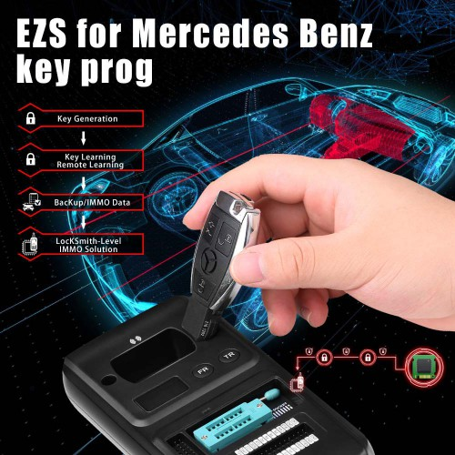 (In Stock) Xtool KC501 Mercedes Infrared Key Programming Tool Support MCU/EEPROM Chips Reading&Writing Work with Xtool X100 PAD3/X100 PAD Elite