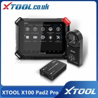 [UK/Czech/US Ship No Tax] XTOOL X100 Pad2 Pro with KC100 Key Programmer full Configuration added VW 4th & 5th Immo with 10 Special Functions