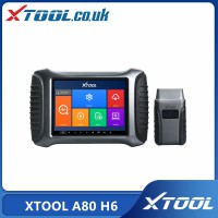 [UK Ship] XTOOL A80 H6 Smart Diagnosis System Tool Car Repair Tool for Vehicle Programming/Odometer Adjustment PK H6 Elite Pro