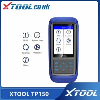 [UK Ship No Tax] (Universal Type) XTOOL TP150 Tire Pressure Monitoring System OBD2 TPMS Diagnostic Scanner Work with 315&433 MHZ Sensor