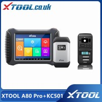 [UK/EU/US Ship No Tax] XTOOL A80 Pro + Xtool KC501 Full System Diagnosis With ECU Coding / Key Programming/Mercedes Infrared Key Programming Tool