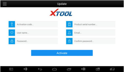 xtool x100 pad2 registration