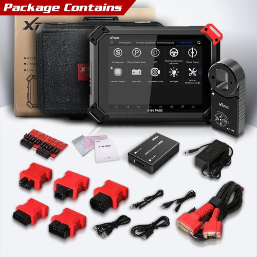 [UK/EU/US Ship No Tax] 2021 Top XTOOL X100 Pad2 Pro with KC100 Key Programmer full Configuration added VW 4th & 5th Immo with 10 Special Functions
