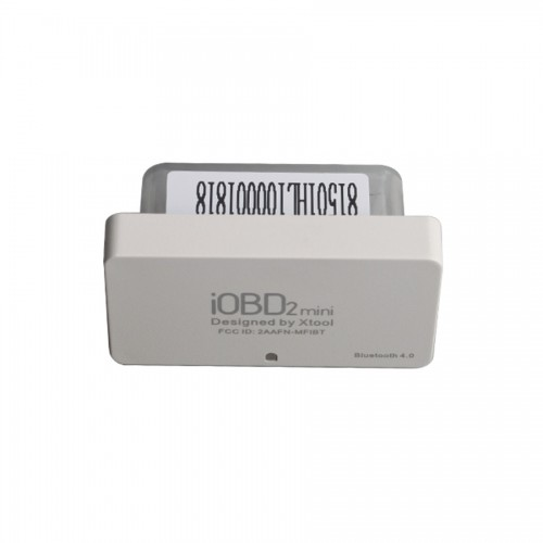 [UK/US Ship] XTOOL iOBD2 Mini Engine Diagnosis OBD2 EOBD Scanner Support Bluetooth 4.0 for iOS and Android Free Shipping