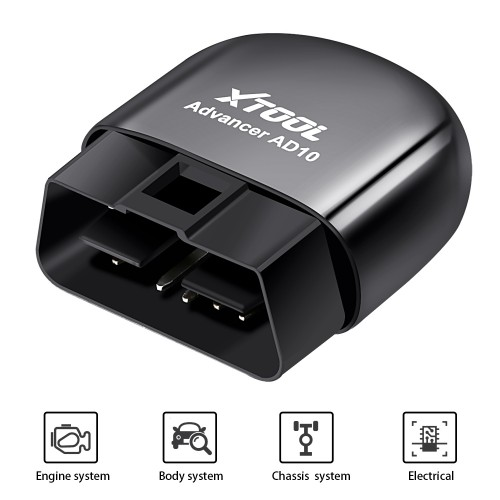 [UK/Czech Ship No Tax] XTOOL AD10 OBD2 Diagnostic Scanner Work with Android/Windows With HUD Head Up Display PK EML327