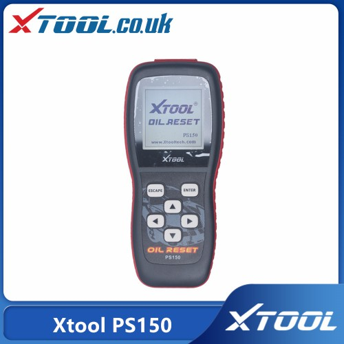 Xtool PS150 Reset oil service light, oil inspection light, service mileage, service intervals and airbag