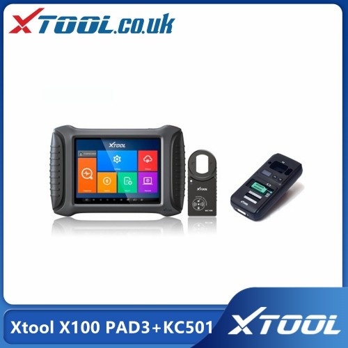 2021 Top Xtool X100 PAD3 Plus Xtool KC501 Support Mercedes Infrared Keys MCU/EEPROM Chips Reading&Writing