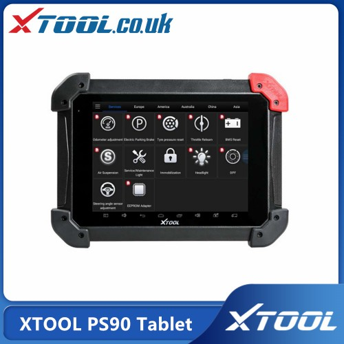 [UK/EU/US Ship] 2021 Top XTOOL PS90 Tablet Full System Diagnostic Tool and 12 Special Functions for Immobilizer/Oil Reset/EPB/BMS/SAS/DPF/TPMS Reset
