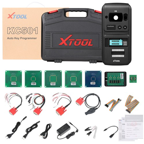 [UK/Czech/US Ship] Xtool X100 PAD3 Plus Xtool KC501 Support Mercedes Infrared Keys MCU/EEPROM Chips Reading&Writing