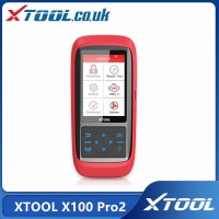 [UK/Czech/US Ship No Tax] Multi-language XTOOL X100 Pro2 Auto Key Programmer with EEPROM Adapter and Mileage adjustment