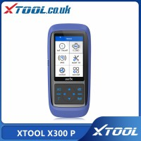 Original XTOOL X300 P Diagnostic Tool Oil Reset ABS Bleeding Maintenance Light Reset Odometer Adjustment Online Update