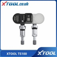 XTOOL TS100 433 & 315MHz TPMS Sensor Tire Repair Tools Work with TP150/TP200 Original with Quality Promise