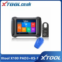 [UK/Czech/US Ship] Xtool X100 PAD3 (X100 PAD Elite) with KC100 Plus Xtool KS-1 Key Emulator for Toyota/Lexus/VW/BMW Key Programming and All Key Lost