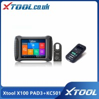 [UK/EU/US Ship No Tax] 2021 Top Xtool X100 PAD3 Plus Xtool KC501 Support Mercedes Infrared Keys MCU/EEPROM Chips Reading&Writing