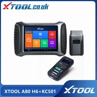 [UK/EU Ship No Tax] XTOOL A80 H6 Smart Diagnosis System Tool Plus Xtool KC501 Key Chip Programming Tool