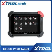 [UK/US Ship] XTOOL PS90 Tablet Full System Diagnostic Tool and 12 Special Functions for Immobilizer/Oil Reset/EPB/BMS/SAS/DPF/TPMS Reset
