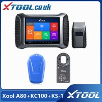 [UK/US Ship No Tax] Xool A80 H6 Repair Tool Plus Xtool KC100&Xtool KS-1 Smart Emulator for VW 4th&5th IMMO Toyota/Lexus All Key Lost