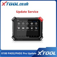 XTOOl X100 PAD2 or X100 PAD2 Pro Update Service for One Year