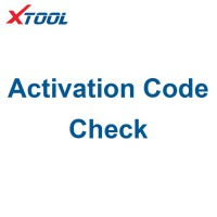Xtool Device Activation Code Check Service