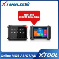 2021 XTOOL X100 PAD3 Online MQB A6/Q7/A8 AKL Programmed Point Card