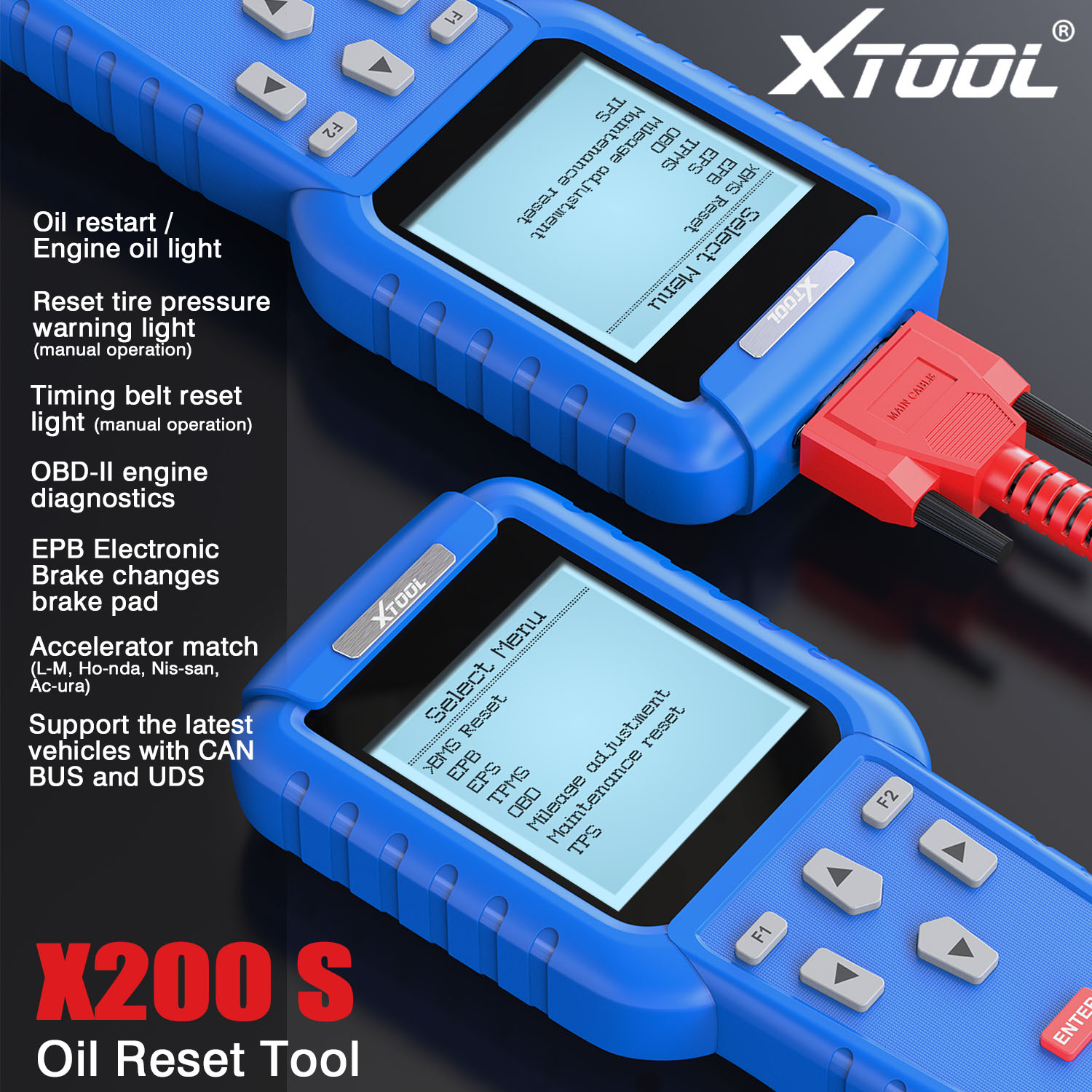Xtool X200 Functions