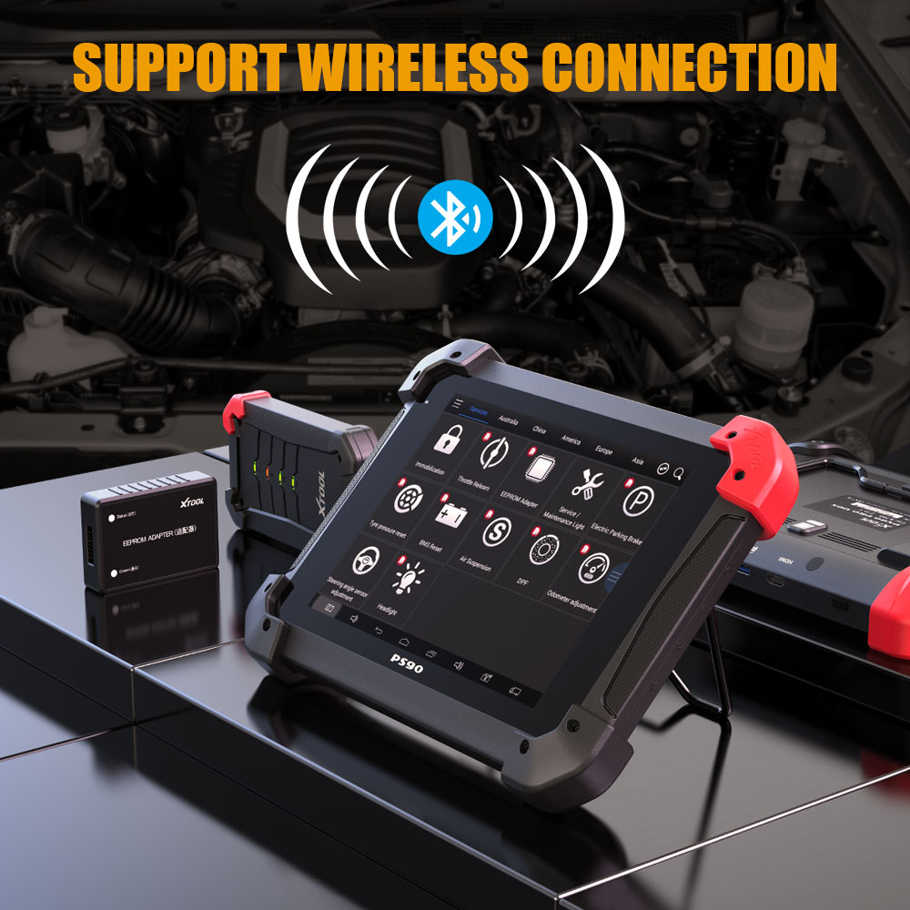 Xtool PS90 PRO Support Wireless Connection