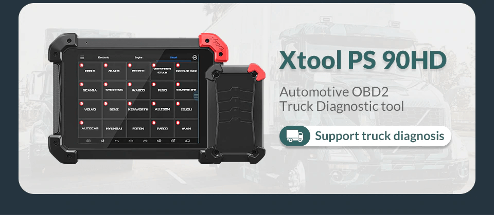 Xtool PS90 PRO for truck