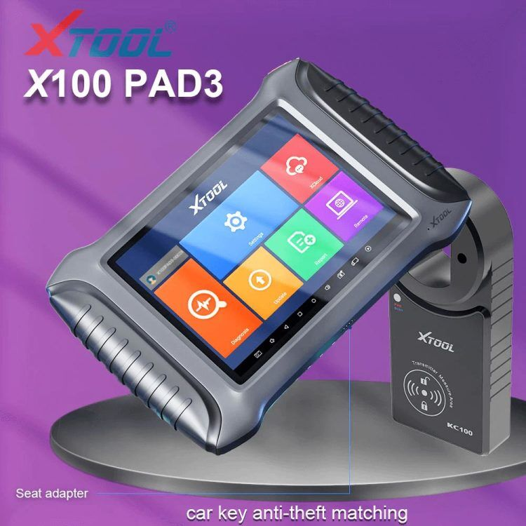 XTOOL pad3 fulll package