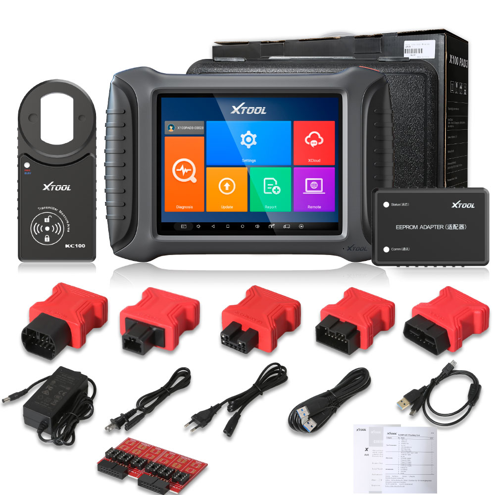 xtool x100 pad3 full package