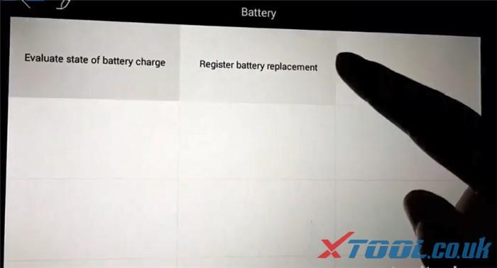 Réinitialisation de la batterie Xtool Ps90 Bmw 3