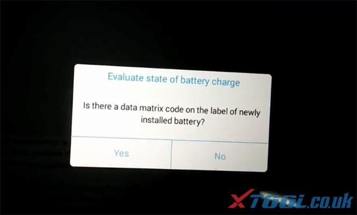 Réinitialisation de la batterie Xtool Ps90 Bmw 8