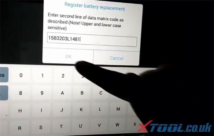 Réinitialisation de la batterie Xtool Ps90 Bmw 9