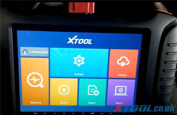 Xtool X100 Pad3 Diagnose 2007 Chevrolet Tahoe 2